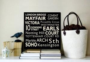London Modern Square Bus Scroll