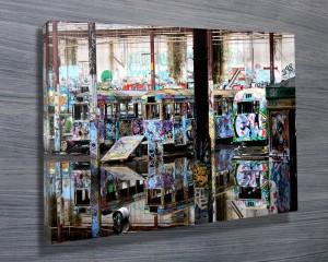 Urban Reflections Tram City Glebe