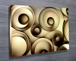 Beautiful abstract canvas