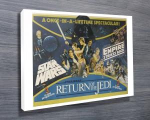 Return of the Jedi Movie Poster