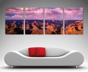 Desert Peaks 4 Panel