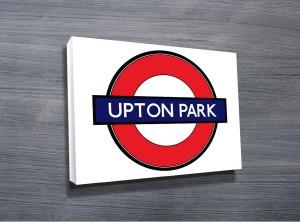 Upton Park London Underground Art Sign