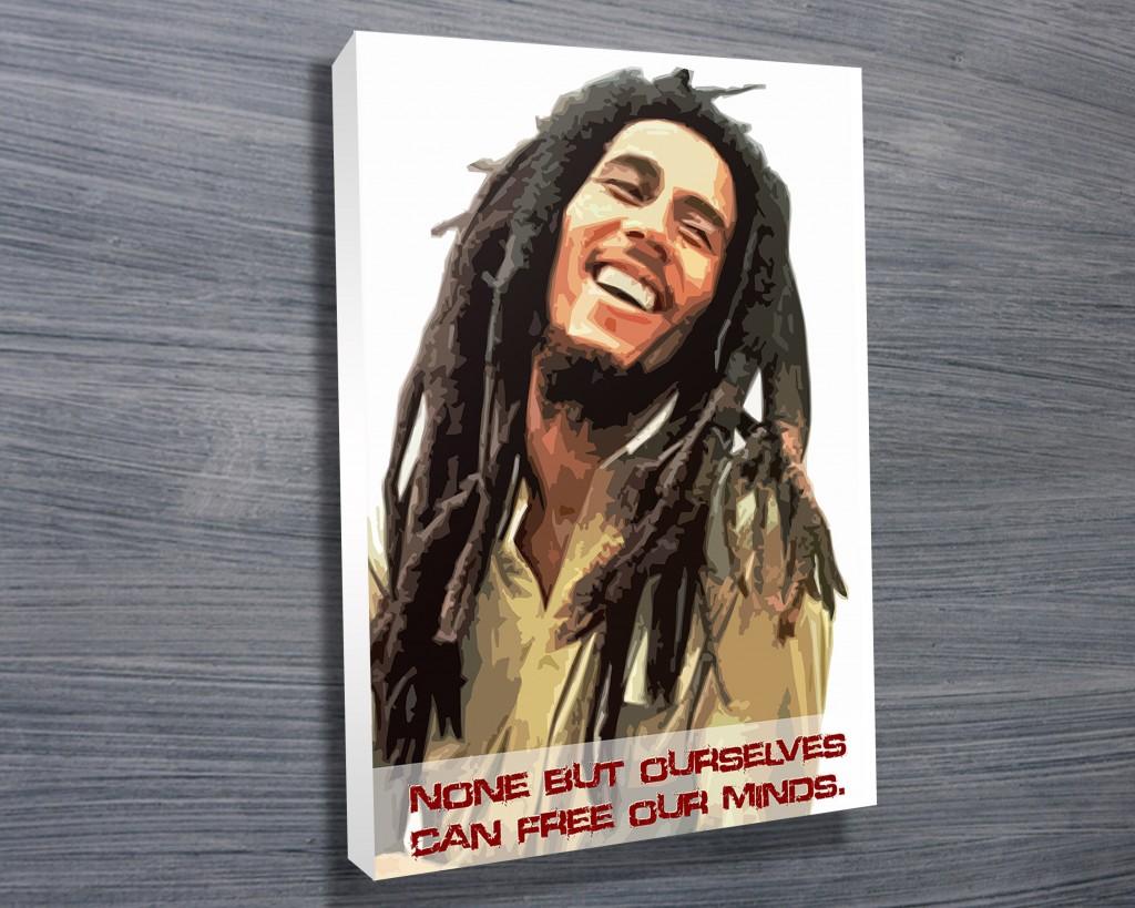 Bob Marley Art Canvas Prints Australia