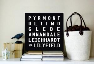 Pyrmont Square Art Scrolls