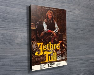 Jethro Tull Concert Poster Print on Canvas