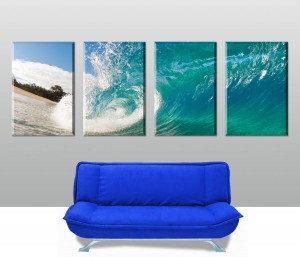 Rolling Waves 4 Panel