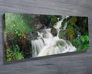 Tumbling Falls Water Fall Panoramic Art