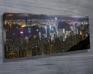 Hong Kong Panorama art