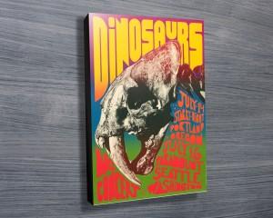 Dinosaurs Concert Poster