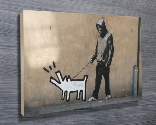 Banksy Canvas Wall Art