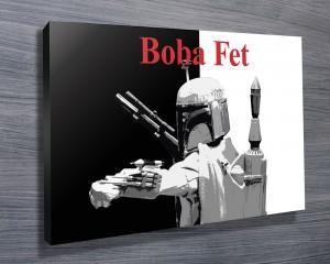 Boba Fet Pop Art