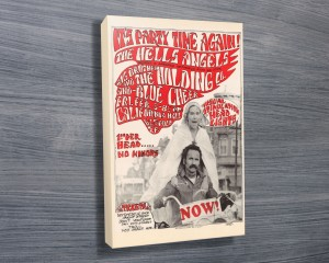 Hell's Angels Concert Poster