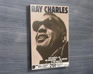 Ray Charles Band Poster