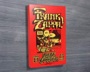 Frank Zappa Concert Poster on Canvas