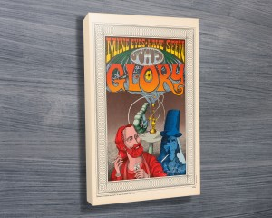 Rick Griffin Glory Concert Poster Wall Art
