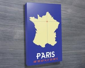 Paris Coordinates art