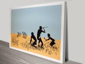 Banksy Trolley Hunters