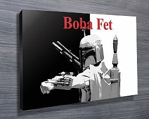 Boba Fet Popart