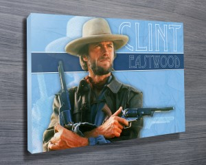 Clint Eastwood pop art print