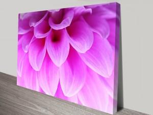 Ethereal Petals Floral Art Canvas Print