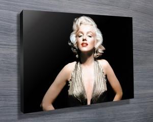 Monroe pop art - black