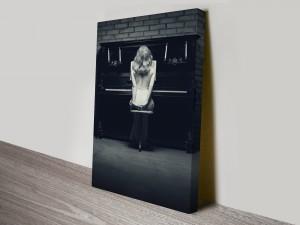 Piano Glamour Canvas Wall Art Print