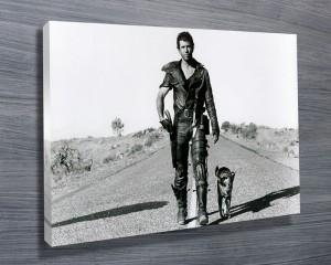 Mad Max Roas Warrior Canvas Art