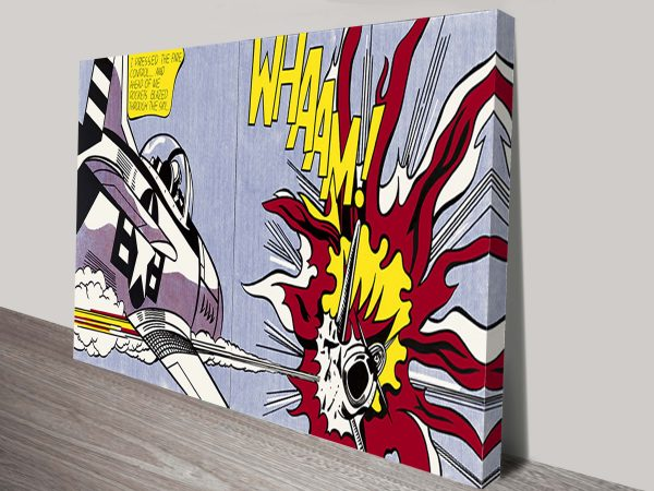 Roy Lichtenstein Whaam art