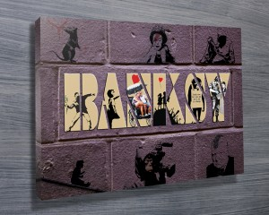 Banksy Artwork Canvas