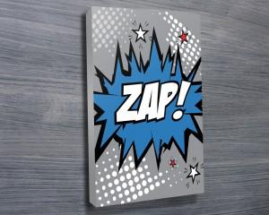 Zap comic book Art