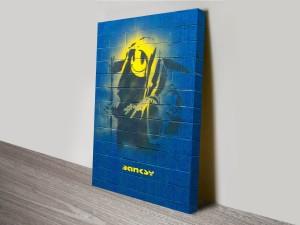Banksy Grim Reaper Canvas Art Print Australia