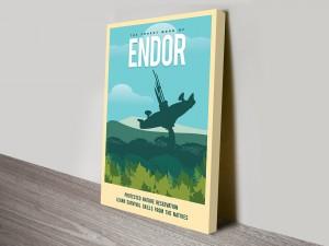 Endor Travel Poster