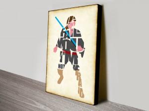 Han Solo Starwars Typographic