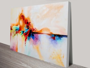 Genesis-Abstract Painting Print on Canvas