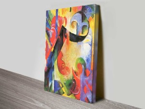 Broken Forms by Franz Marc Abstract Ready to Hang Art