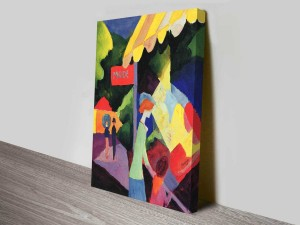 Fashion Window by August Macke German Abstract Art Print