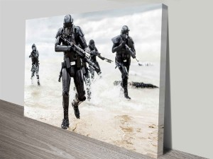 rogue one a star wars story death troopers wall art canvas australia