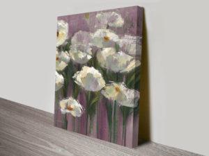 Anemones-by-the-Lake-Purple-III-Canvas-Art-Print