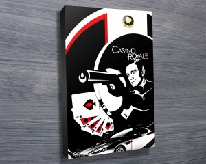 007 James Bond Wall Art