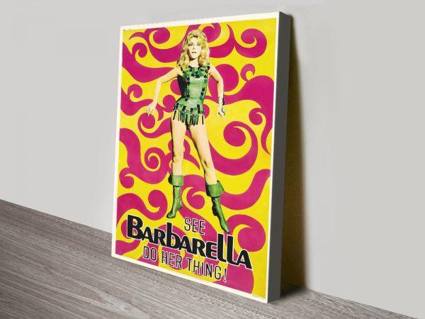 Barbarella Movie Poster