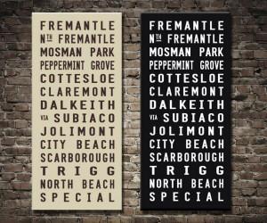 Fremantle Bus Scroll