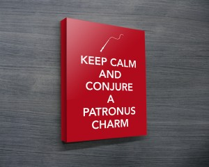 Expecto Petronum Harry Potter Art Canvas Prints Australia
