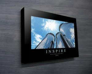 Inspire Motivational Canvas Print