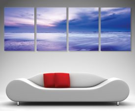 Cloud Drift 4 Panel