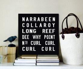 Narrabeen Square Tram Scroll