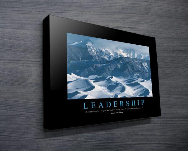 Leadership Motivational Art