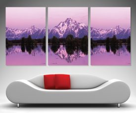 Buy Mountain Dawn Triptych Split Panel Wall Art