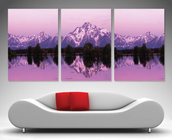 Mountain Triptych Split Panel