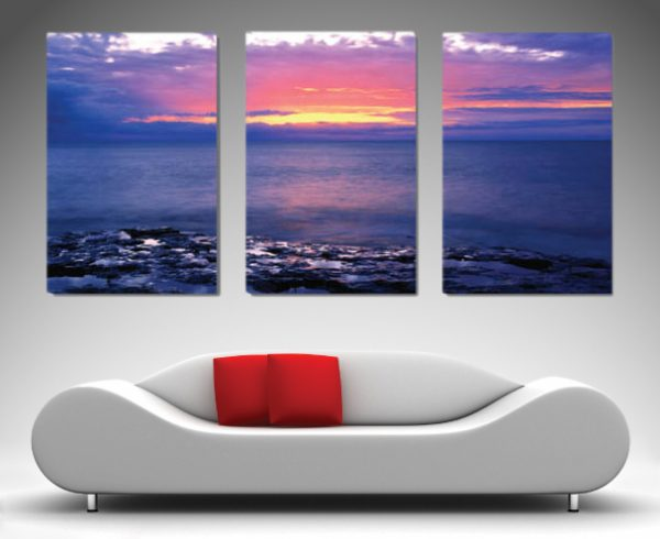 Sunset Triptych art