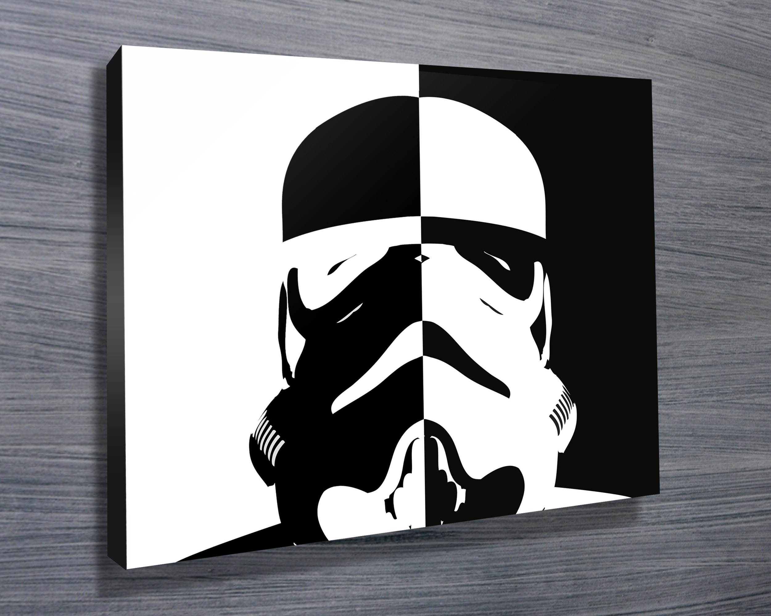 Stormtrooper Pop Art Canvas Prints Australia